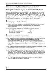 Abwasserverbandssatzung Mittleres Pfinztal und Bocksbachtal