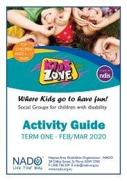 NADO KidsZone Activity Guide