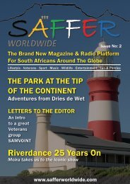 SAFFER Worldwide Issue No:2
