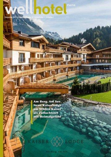 wellhotel Sonderheft Hotel Kaiserlodge Scheffau