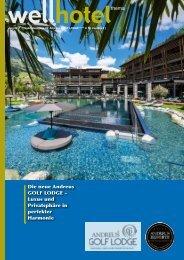 wellhotel Sonderheft Andreus Resorts Golf Lodge