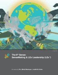 The 6th Sense: SenseMaking and LEx Leadership_v1
