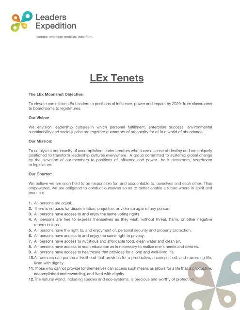 LExTenets