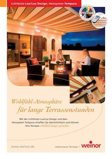 Lichtleiste, Tempura etc (pdf)