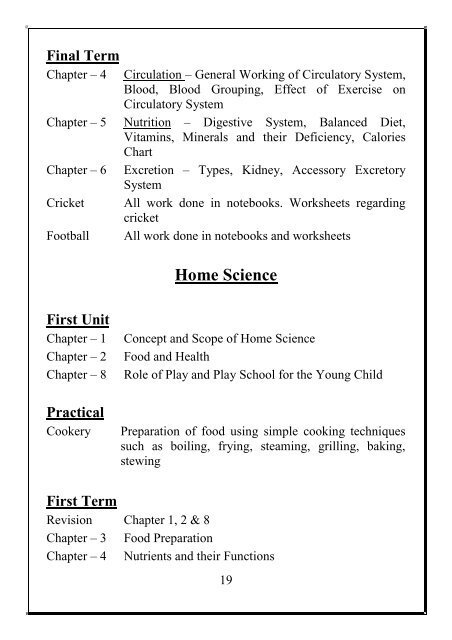 Physical Education Text B