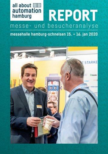 Messereport all about automation hamburg 2020