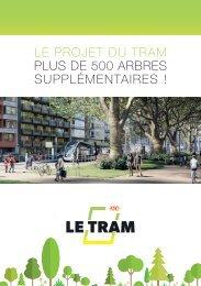 Le projet du Tram - plus de 500 arbres supplémentaires