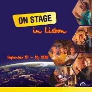 ON STAGE Lisbon 2021 - Brochure
