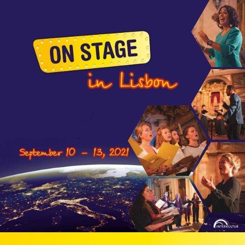 ON STAGE Lisbon 2021 - Brochure