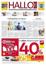 Hallo-Allgäu Memmingen vom Samstag, 22.Februar