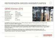 REFERENZEN GROSS-WÄRMEPUMPEN - Wärmepumpe Austria