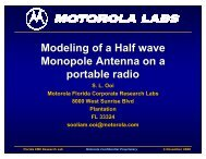 Modeling of a Half-wave Monopole Antenna - Educypedia