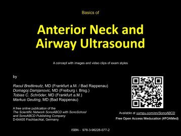 Basics of Anterior and Airway Ultrasound Procedures plus Video Clips