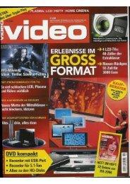 "9*"" PLASMA l LCD 1 HDTV   HOME CINEMA - Image Vertriebs GmbH"