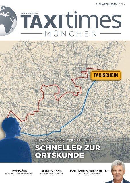 Taxi Times München - 1. Quartal 2020