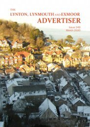 Lynton, Lynmouth and Exmoor Advertiser, March 2020