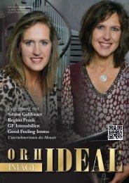 GF Immobilien Augsburg mit Sabine Gahbauer und Regina Frank im Orhideal IMAGE Magazin - März 2020