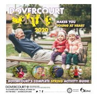 DOVERCOURT SPRING 2020 program guide