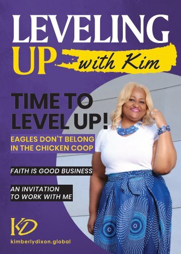 Leveling Up With Kim Dixon Magazine