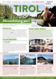 Tirol - Abwechslung pur!