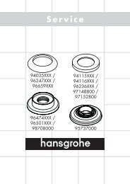 Service - Hansgrohe