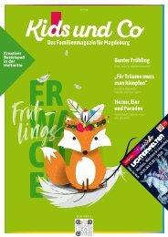 Kids und Co Magdeburg, Ausgabe Frühling 2020