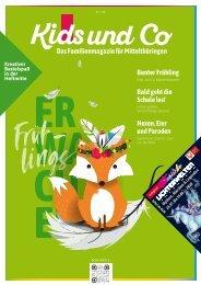Kids und Co Mittelthüringen, Ausgabe Frühling 2020