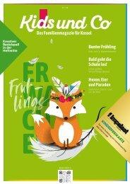 Kids und Co Kassel, Ausgabe Frühling 2020