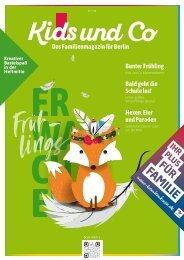 Kids und Co Berlin, Ausgabe Frühling 2020