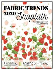 Benartex Fabric Trends March 2020 Shoptalk