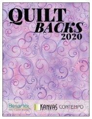 Quilt Backs 2020