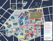 Whitman College Snow Removal Map