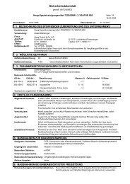 Sicherheitsdatenblatt - Haug GmbH