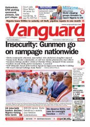 26022020 - Insecurity: Gunmen go on rampage nationwide