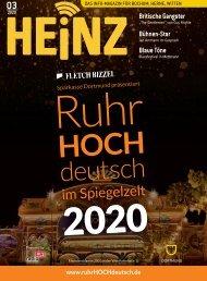 03_2020 HEINZ Magazin Bochum, Herne, Witten