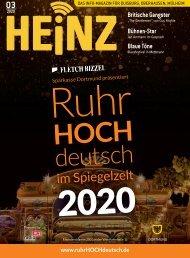 03_2020 HEINZ Magazin Duisburg, Oberhausen, Mülheim