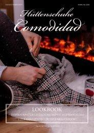 Lookbook Hüttenschuhe Comodidad