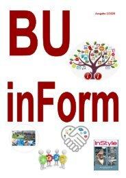 2. Ausgabe BU inForm 2020