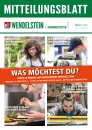 Wendelstein+Schwanstetten - März 2020