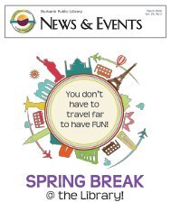 March 2020 Library News and Events