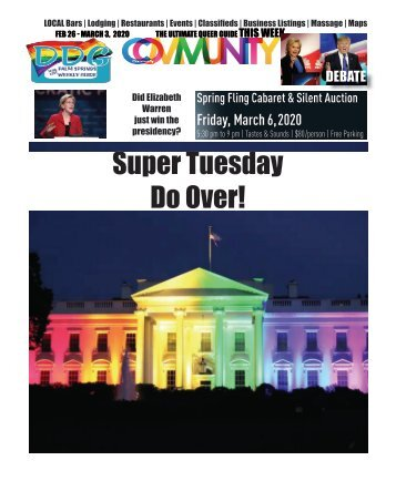 FEB 26 - MARCH 3, 2020 THE ULTIMATE QUEER GUIDE THIS WEEK