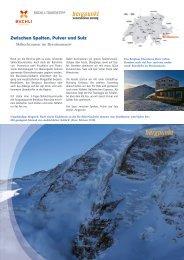 Tourentipp 03.2020 - Skihochtouren im Berninamassiv