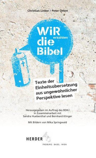 Leseprobe: Wir erzählen die Bibel (Herder Verlag)