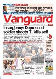 27022020 - Insurgency: Depressed soldier shoots 7, kills self