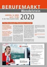 Berufemarkt Wendelstein 2020
