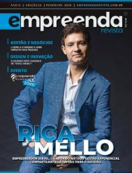 EMPREENDA REVISTA - Ed. 33 - RICA MELLO - Fev/2020