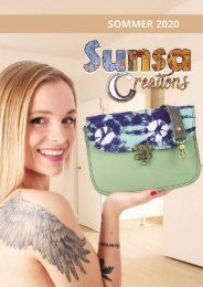 Sunsa Creations Sommer 2020 Katalog