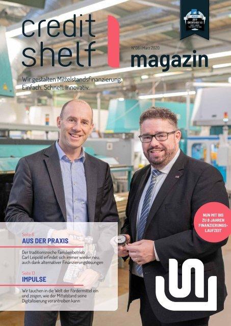 creditshelf-Magazin NO 8-DE