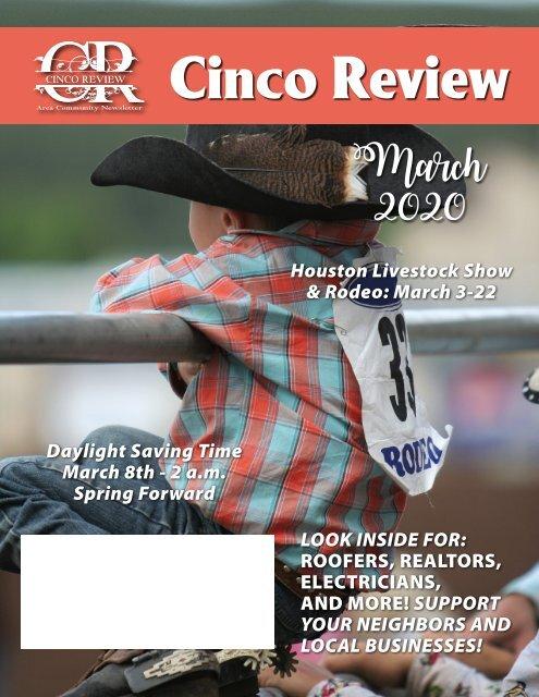 Cinco Ranch Halloween 2020 Cinco Ranch 2 March 2020