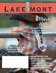 Lakemont March 2020